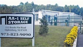 Cheap Self Storage Units, Ogdensburg, Sussex County NJ